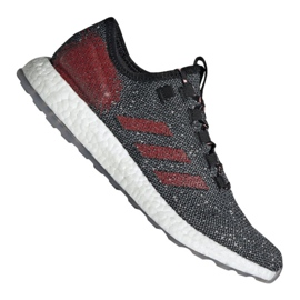 Grey Adidas PureBoost M B37777 shoes