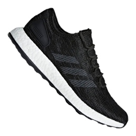 Black Adidas PureBoost M CP9326 shoes