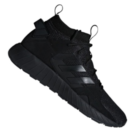 Black Adidas Questarstrike Mid M G25774 shoes