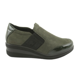 Wedge shoes Sergio Leone 225 olive