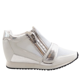 Fashionable Simple Sneakers SK48 White