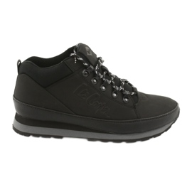 Lee Cooper winter shoes for men 19-20-011 black