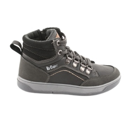 Grey Lee Cooper high sport shoes 19-29-081 gray