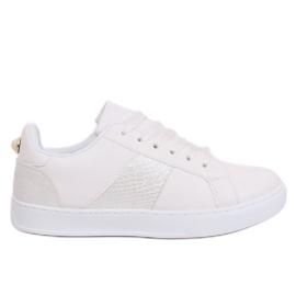 White X93 White women's sneakers