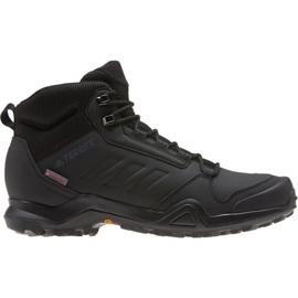 Black Adidas Terrex AX3 Beta Mid M G26524 shoes