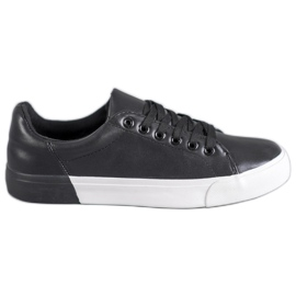 Bestelle black Sneakers With Eco Leather