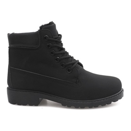 Insulated Timber Boots Trapery 8315-1 Black