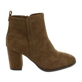 Sergio Leone 520 camel boots brown