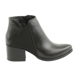 Gamis 3815 leather high heels black