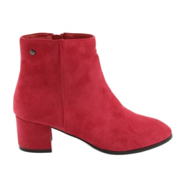 Filippo 316 suede red boots