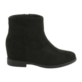 Filippo Black boots with zipper 1052