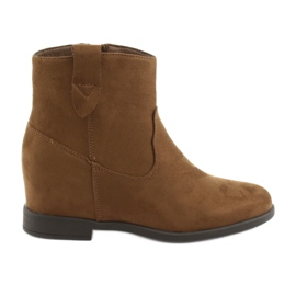 Filippo Brown ankle boots 1052