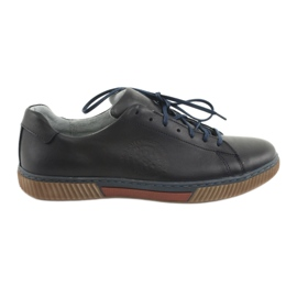Navy Riko 893 sport shoes