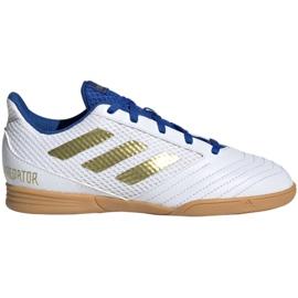 Adidas Predator 19.4 In Sala Jr EG2829 indoor shoes white white