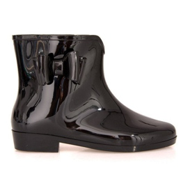 Short Wellingtons with bow SD97 Black