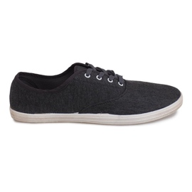 Grey Material Sneakers ZS-001