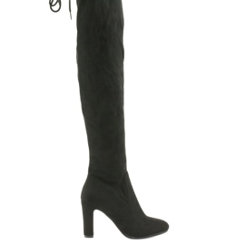 Filippo 996 stretch knee boots black