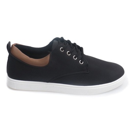 Casual Men's Sneakers 655 Black