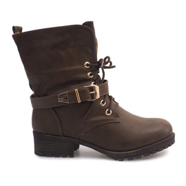 Green Boots Workery 6616 Khaki