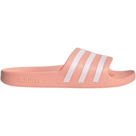 Pink Adidas Adilette Aqua W EE7345 slippers