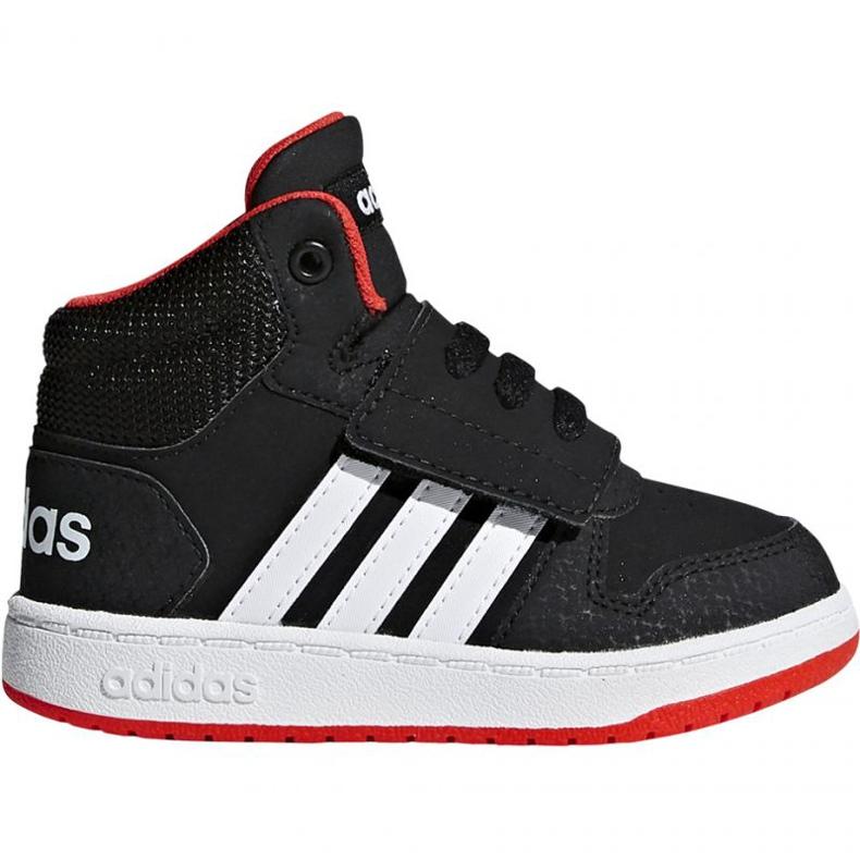 Adidas Hoops Mid 2.0 I Jr B75945 shoes black