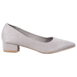 Seastar grey Pumps On Flat Heels