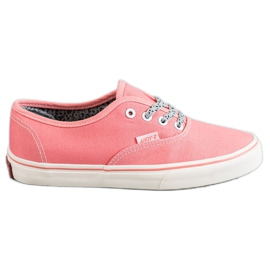 SHELOVET pink Comfortable sneakers