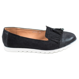 SHELOVET black Lords With Tassels