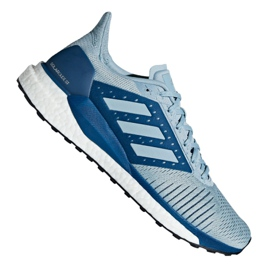 Grey Adidas Solar Glide St M D97074 shoes