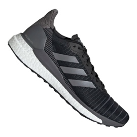 Black Adidas Solar Glide 19 M G28463 shoes