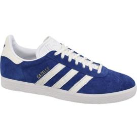 Blue Adidas Originals Gazelle B41648 shoes