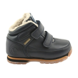 American Club Boots Boots Velcro American ES42 navy blue