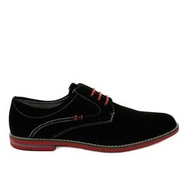 Black elegant shoes 6-688