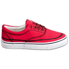 Bestelle red Fashionable sneakers
