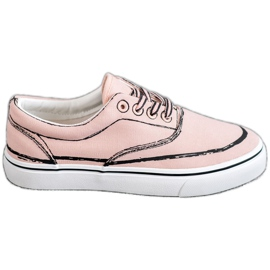 Bestelle pink Fashionable sneakers