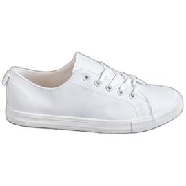 SHELOVET white Comfortable sneakers