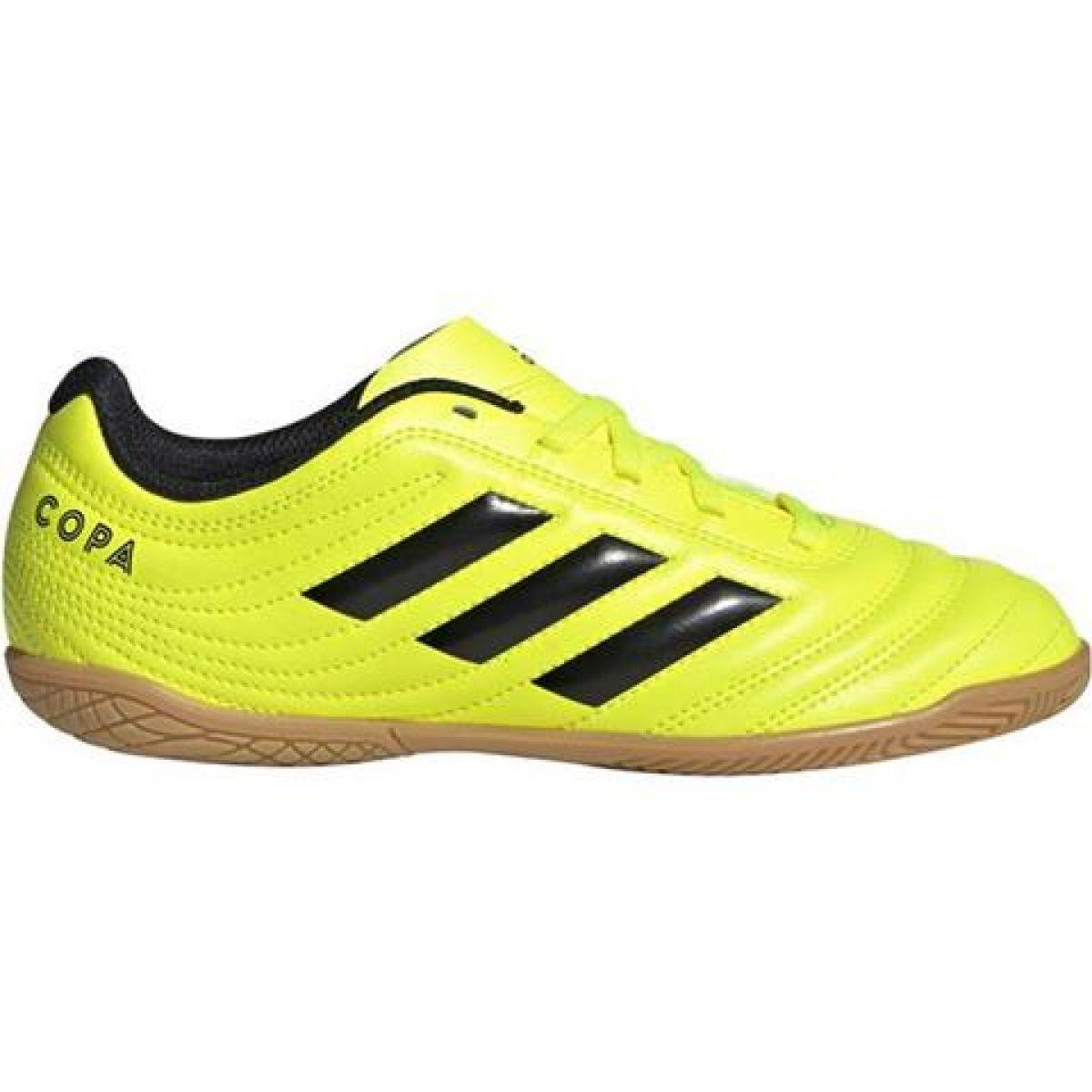Lo dudo delincuencia Levántate  Adidas Copa 19.4 In Jr F35451 indoor shoes yellow yellow - ButyModne.pl