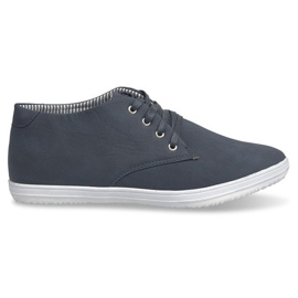 Fashionable High Sneakers 3232 Navy