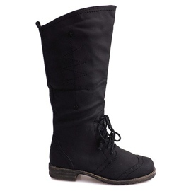 Jazz Boots 7-1GN016A Black