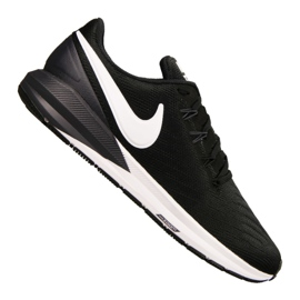 Black Nike Air Zoom Structure 22 M AA1636-002 shoes