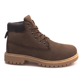 Insulated Boots ZY1609-1 Brown