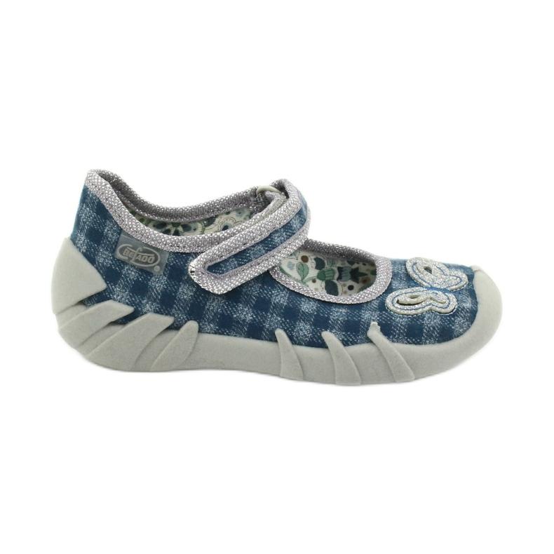 Befado children's shoes 109P188 blue grey