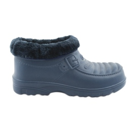 American Club navy Wellingtons insulated with fur