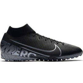 Nike Mercurial Superfly 7 Academy Tf M AT7978-001 football shoes black black