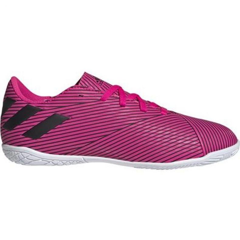Indoor shoes adidas Nemeziz 19.4 In Jr F99939 pink pink