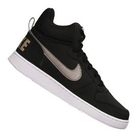 Black Nike Court Borough Mid M 838938-005 shoes