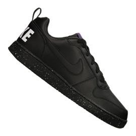 Black Nike Court Borough Low Se M 916760-002 shoes
