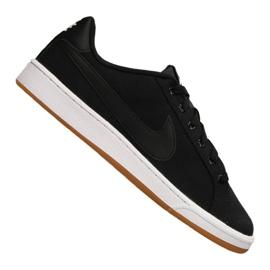 Black Nike Court Royale Canvas M AA2156-001 shoes
