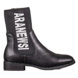 Black VINCEZA High Boots