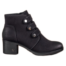 Black VINCEZA Heels